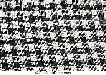 Knitwear - Black and white knitwear as a background