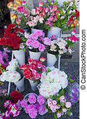 flowers - numerous bouquets of flowers and gifts to be...