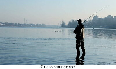 fisherman - Fly-fisherman