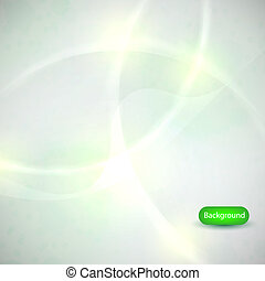 Green abstract background. vector illustration. Eps 10