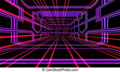 Techno a room
