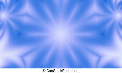 Snow (blue) flower.