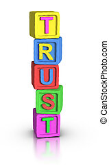 Play Blocks : TRUST