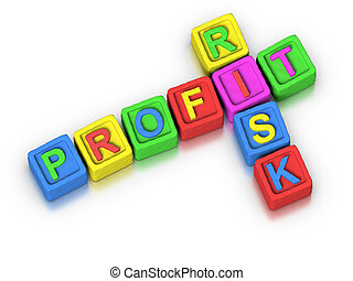 Crossword Puzzle : PROFIT RISK