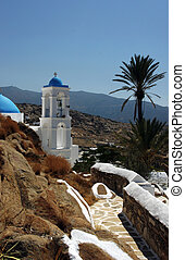 Greek Church in the sunshine