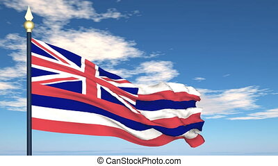 Flag Of Hawaii