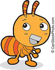 cartoon ant - funny cartoon ant