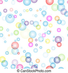 Transparent colorful seamless background