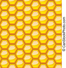 Seamless honeycomb for your design - Seamless honeycomb...