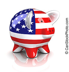 Piggy Bank - USA