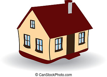 Vector image of House