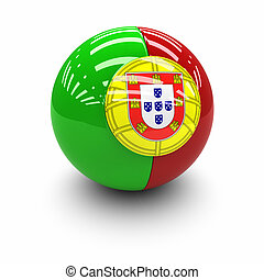 Flag of Portugal - 3D  - Flag of Portugal