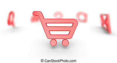 Internet icon Shopping Cart