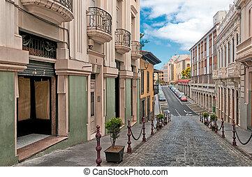 Street in La Orotava, Canary islands, Spain - Quiet street...