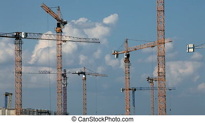 development - tower crane