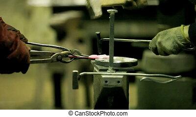 forging - Blacksmiths at work