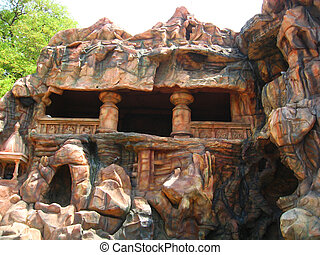 Cave at Indian village Kolhapur-i - A beautiful and isolated...