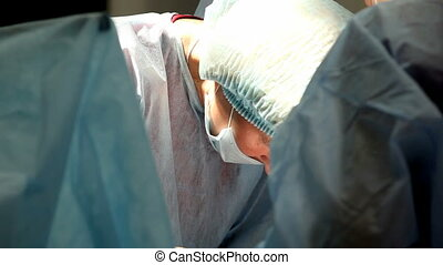 surgeon - operating room