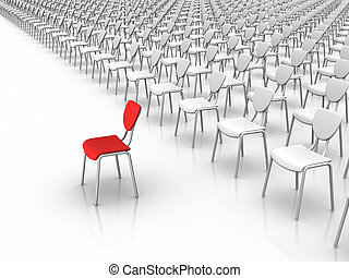 Leadership  -  Individuality Concept
