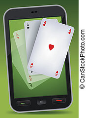 Smartphone Gambling - Four Aces