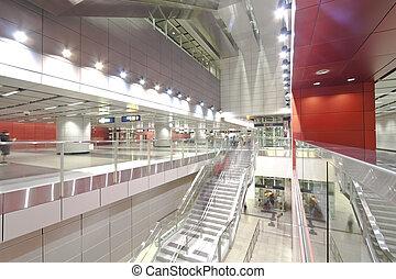 Subway station in Hong Kong