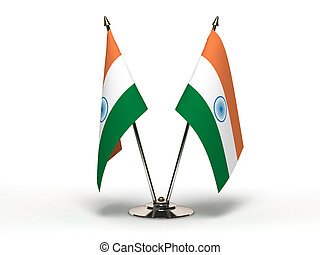 Miniature Flag of India