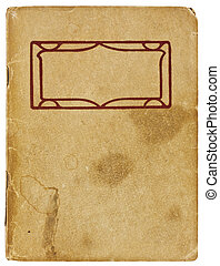 Vintage Booklet - An old booklet viewed from above. The...