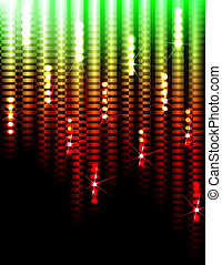 Disco lights background - Disco Abstract Colorful Stripes on...