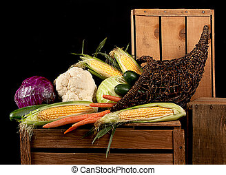 a cornucopia of vegtables - A cornucopia of vegtables all...