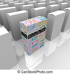 Communicate Package Helps You Learn Many Boxes Choices -...