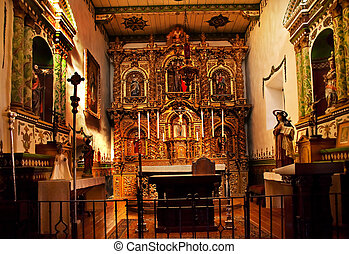 Serra Chapel Mission San Juan Capistrano Church California -...