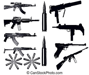 Various weapons - various Fire weapons