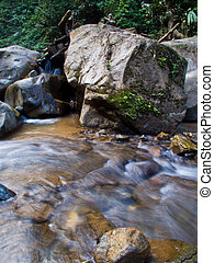 big stone in brook - this is big stone in brook Its so...