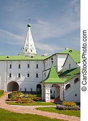 Ancient kremlin in the Russian Suzdal town XII century