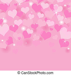 Valentine Background - Beautiful Valentines Day background...