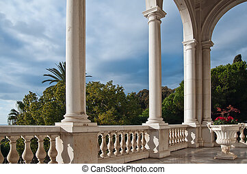 Villa Ormond in Sanremo - a view from the terrace of Villa...