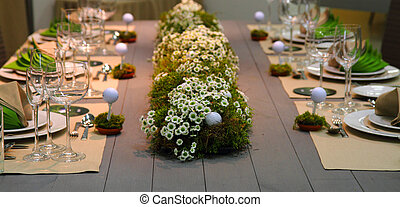 wedding golf table - very nice wedding golf table as sport...