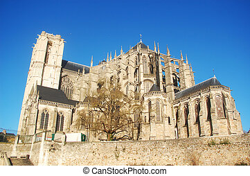 Cathedral St. Julien - The cathedral St. Julien from Le...
