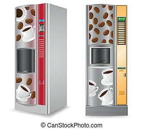 vending coffee is a machine