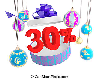 Christmas gift thirty percent discount