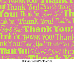 Thank You - Grouped collection of different Thank You text