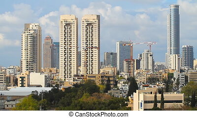 Tel Aviv-Ramat Gan City - Tel Aviv - Ramat Gan City time...