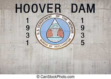 Hoover Dam, Boulder City, Nevada, USA