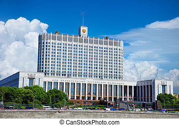 Russian Federation Government - White house, Moscow - The...