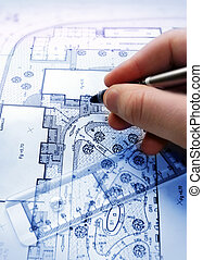 plan - architect with a plan