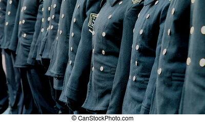 parade of seafarers    - sea jackets
