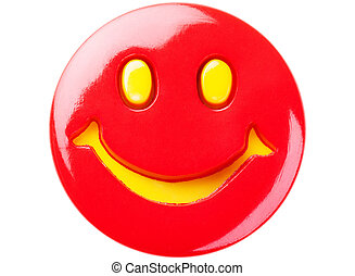 Red smiley - Simple red smiley face
