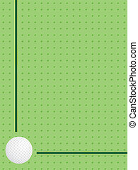 background with golf ball - green background with golf ball...