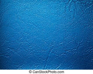 Blue Leatherette sample