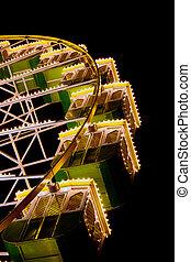 funfair wheel